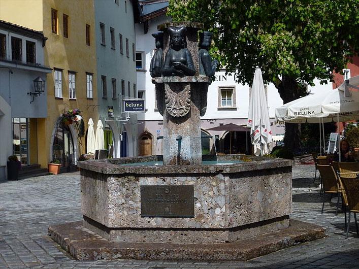 Stadtbrunnen, Kitzbühel